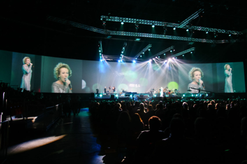Entertainment während der OTP Bank Gala