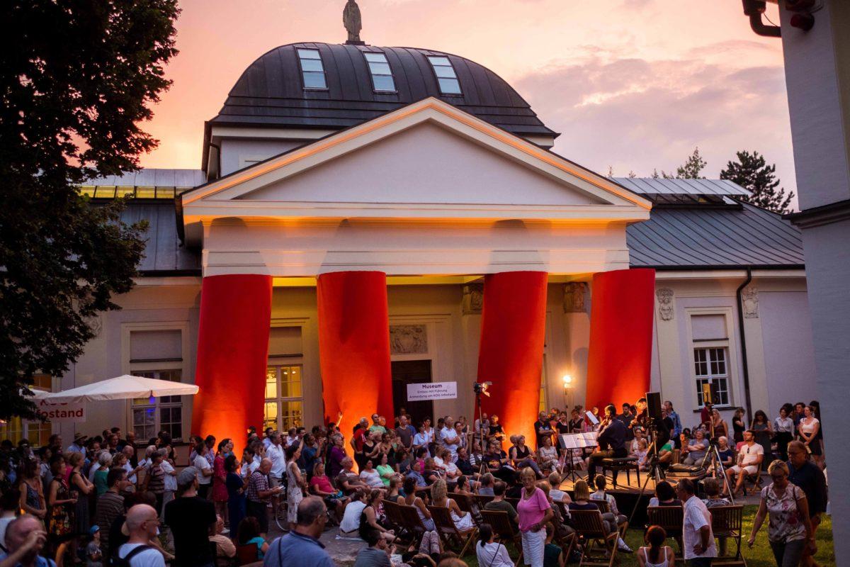 Kunstforum ostdeutsche Galerie bei der Klassik im Park 2018